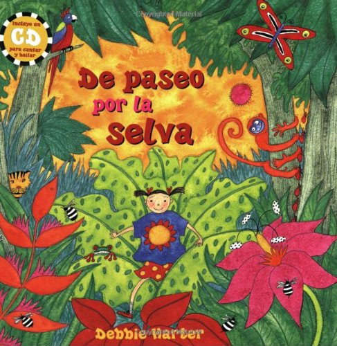 9781841489124: De Paseo Por La Selva PB w CD (Spanish Edition)