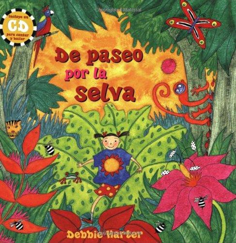 9781841489124: De Paseo Por La Selva PB w CD (Spanish Edition)