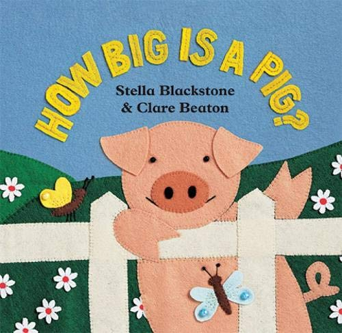 9781841489599: How Big is a Pig (Barefoot Board Book)