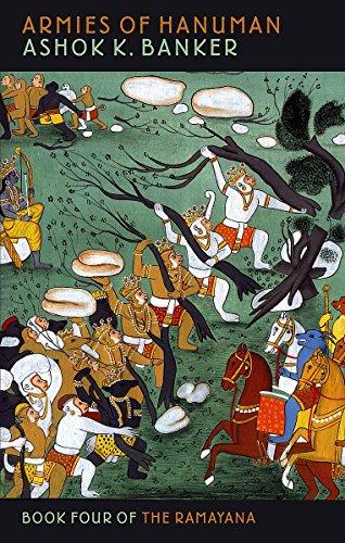 9781841493299: Armies Of Hanuman: Book Four of the Ramayana