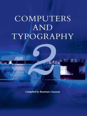 9781841500492: Computers and Typography: v. 2