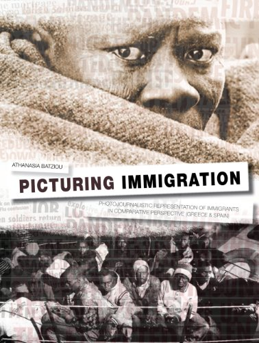 9781841505190: Picturing Immigration: Photojournalistic Representation of Immigrants in Greek and Spanish Press
