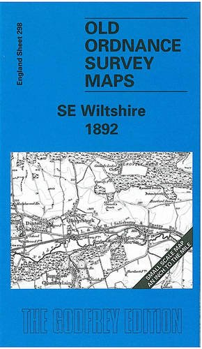 9781841510828: South East Wiltshire 1892: One Inch Map 298 (Old Ordnance Survey Maps of England & Wales)