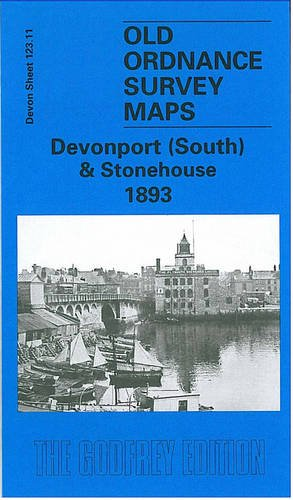 9781841512082: Plymouth (North) 1893: Devon Sheet 123.08 (Old O.S. Maps of Devon)
