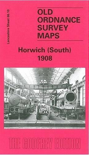 Horwich (South) 1908 - Old Ordnance Survey
