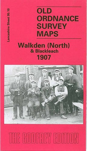 Walkden (North) & Blackleach 1907: Lancashire Sheet 95.10 (Old O.S. Maps of Lancashire)