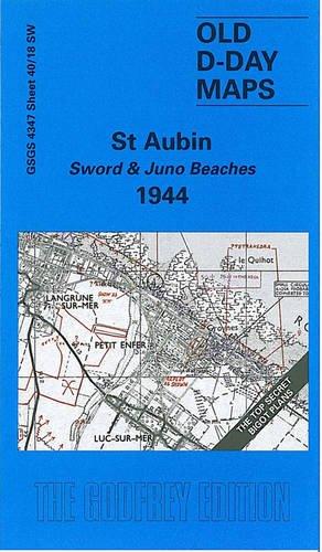 9781841516929: St. Aubin - Sword and Juno Beaches 1944 (D-Day Maps S.)