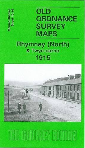 Rhymney (North) and Twyn-carno 1915: Monmouthshire Sheet 10.16 (Old O.S. Maps of Monmouthshire) (1841519448) by Angus Dunphy