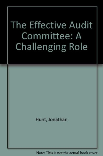 9781841520469: The Effective Audit Committee: A Challenging Role