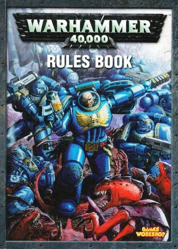 9781841545110: Warhammer 40,000 Rules Book