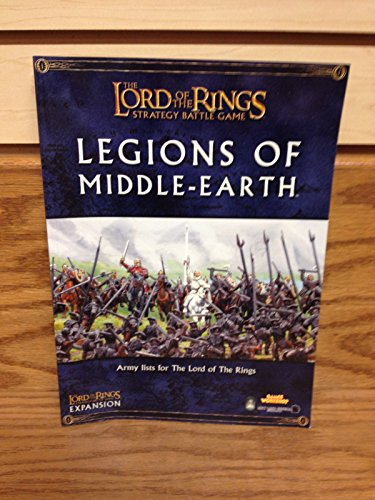 Lord of the Rings, Legions of the Middle Earth (1841547719) by Matthew Ward