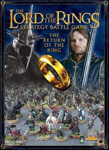 Return of the King: A Journey Supplement for the Lord of the Rings Strategy Battle Game (1841548308) by Rick; Cavatore, Alessio; Ward, Matthew Priestley