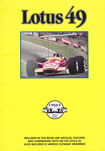 Lotus 49: Unique Motor Books