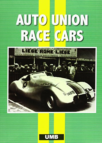 AUTO UNION RACE CARS (Paperback): Colin Pitt