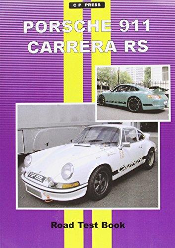 Porsche 911 Carrera Road Test Book