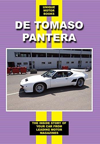 DE TOMASO PANTERA (Paperback): Colin Pitt