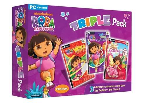 9781841567211: Dora the Explorer Triple Pack