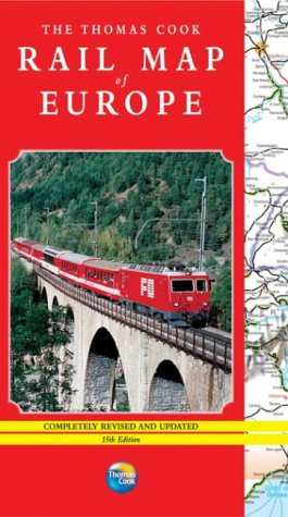 9781841574448: The Thomas Cook Rail Map of Europe