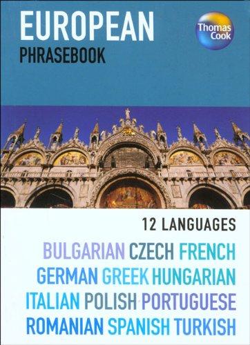 9781841575001: European 12 Language Phrasebook, 3rd (Phrasebooks)