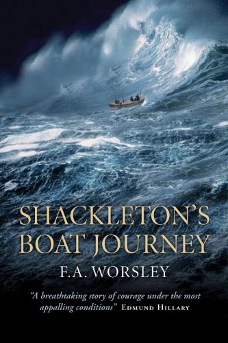 9781841580630: Shackleton's Boat Journey: A True Story of Antarctic Survival