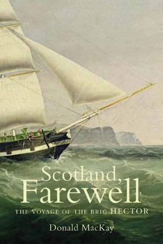 9781841584591: Scotland, Farewell: The Voyage of the Brig Hector