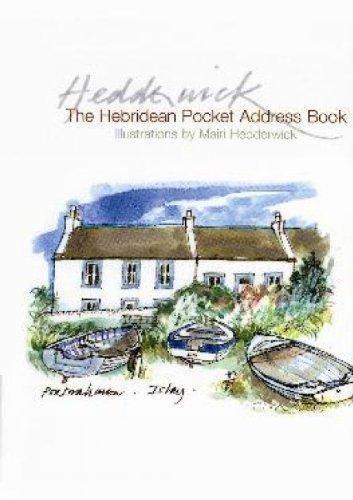 9781841586595: Hebridean Pocket Address Book