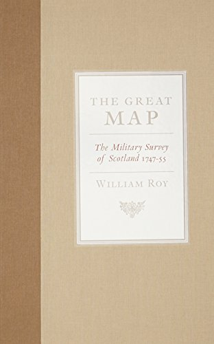 9781841586670 The Great Map The Military Survey Of Scotland 1747 1755