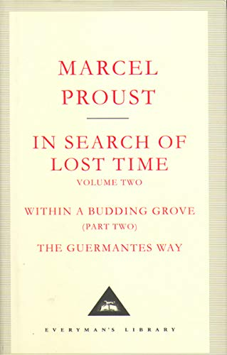 9781841598970: In Search Of Lost Time Volume 2: v. 2 (Everyman's Library Classics)