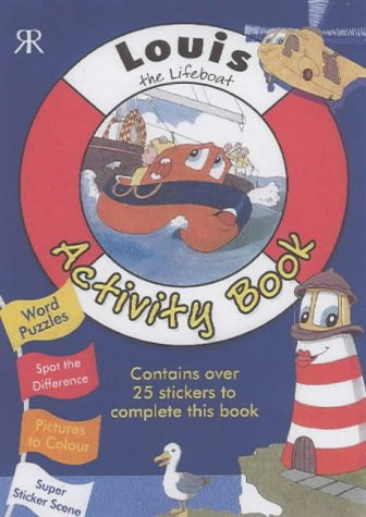 Louis the Lifeboat Sticker Book: Gordon Volke