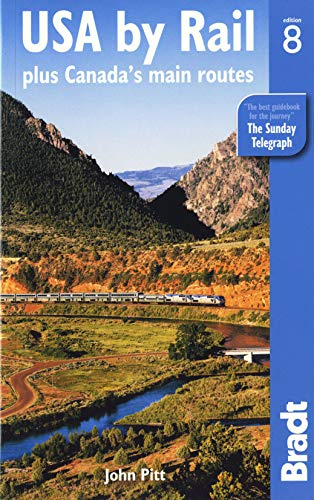9781841623894: USA by Rail: plus Canada's main routes (Bradt Travel Guides)