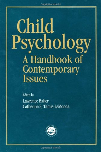 9781841690001: Child Psychology: A Handbook of Contemporary Issues