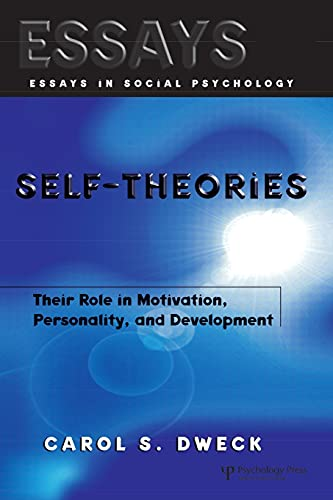 9781841690247: Self-theories: Their Role in Motivation, Personality, and Development (Essays in Social Psychology)