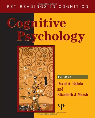 9781841690650: Cognitive Psychology: Key Readings (Key Readings In Cognition)
