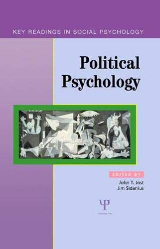 9781841690698: Political Psychology: Key Readings (Key Readings in Social Psychology)