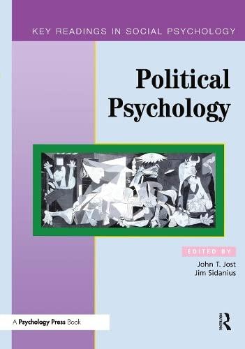 Political Psychology: Key Readings (Key Readings in