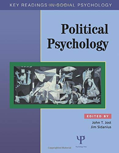9781841690704: Political Psychology: Key Readings (Key Readings in Social Psychology)