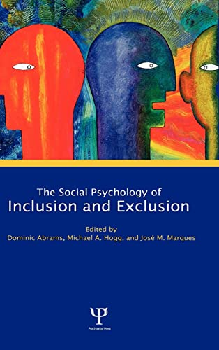 9781841690735: Social Psychology of Inclusion and Exclusion