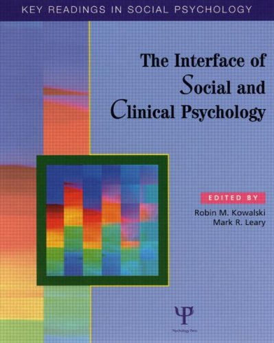9781841690872: The Interface of Social and Clinical Psychology: Key Readings (Key Readings in Social Psychology)