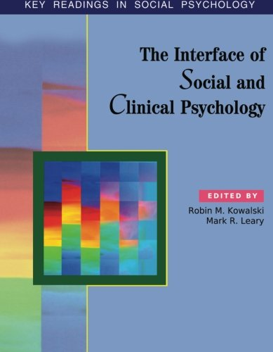9781841690889: The Interface of Social and Clinical Psychology: Key Readings (Key Readings in Social Psychology)