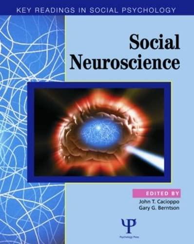 9781841690995: Social Neuroscience: Key Readings (Key Readings in Social Psychology)
