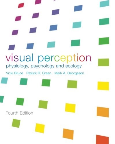 9781841692388: Visual Perception: Physiology, Psychology and Ecology