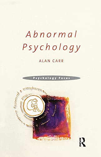 9781841692425: Abnormal Psychology (Psychology Focus)