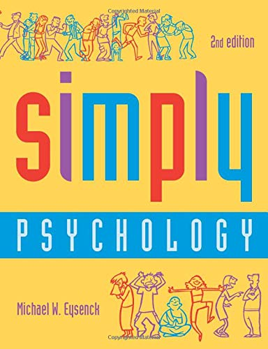 9781841693095: Simply Psychology, Second Edition