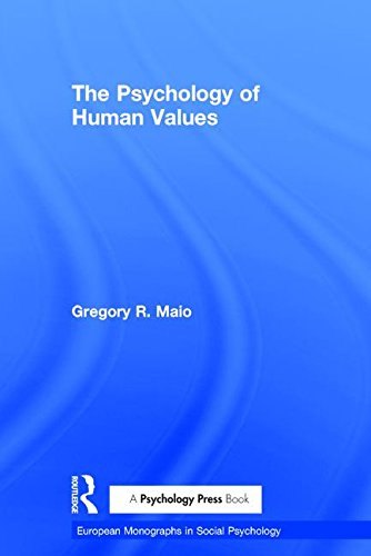 9781841693576: The Psychology of Human Values (European Monographs in Social Psychology)