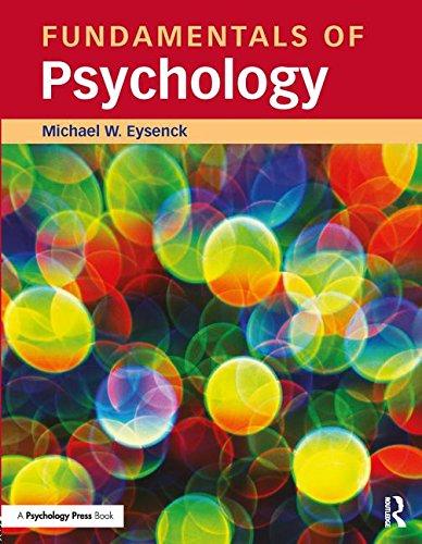 9781841693729: Fundamentals of Psychology