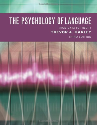 9781841693811: The Psychology of Language: From Data to Theory