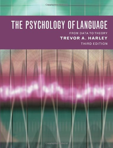 9781841693828: The Psychology of Language: From Data to Theory