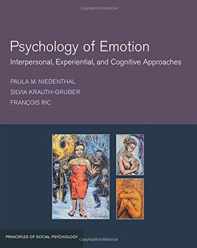 9781841694023: Psychology of Emotion: Interpersonal, Experiential, and Cognitive Approaches (Principles of Social Psychology)