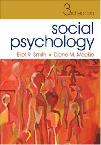 9781841694085: Social Psychology: Third Edition