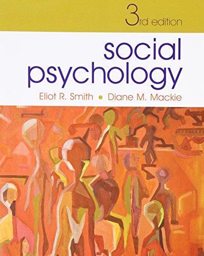 9781841694092: Social Psychology: Third Edition